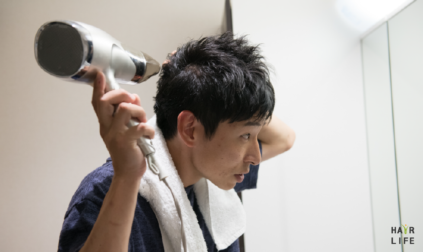 預防禿頭的吹髮重點及順序