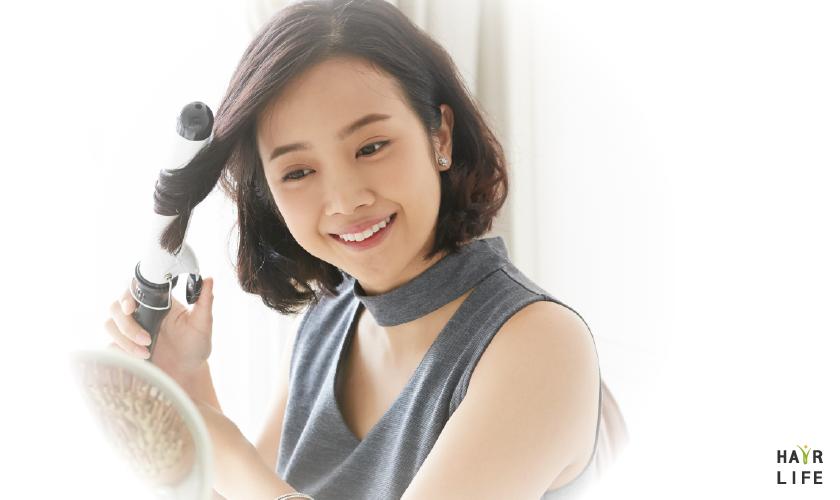 電棒捲的高溫會傷害頭髮