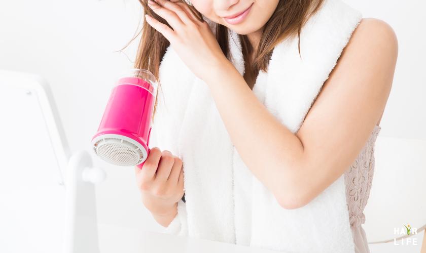 頭皮保養第四招:正確吹乾頭髮的方式