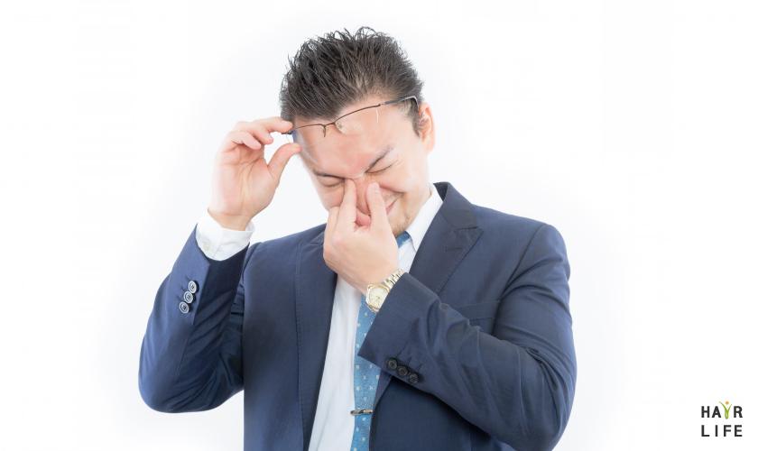 眼睛疲勞是掉髮的原因之一?真的假的?
