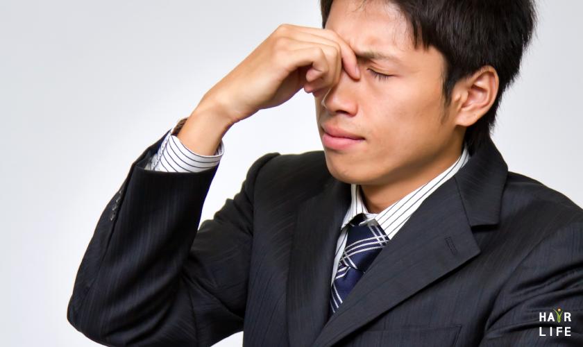 眼睛會疲勞會引發掉髮危機?