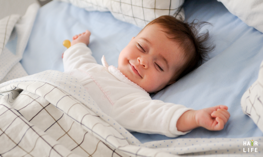 良好的睡眠品質可改善掉髮