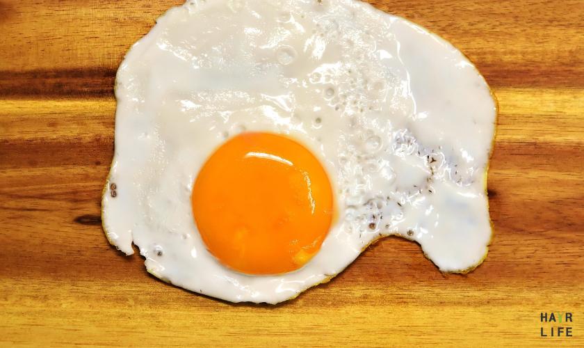 預防掉髮的含鐵食物-蛋黃