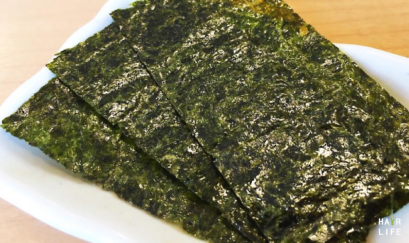 預防掉髮的含鐵食物-海苔