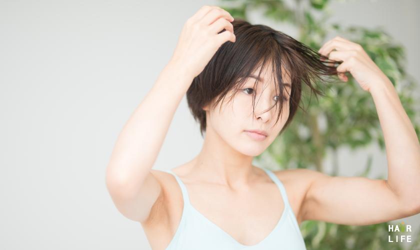 頭髮自然風乾
