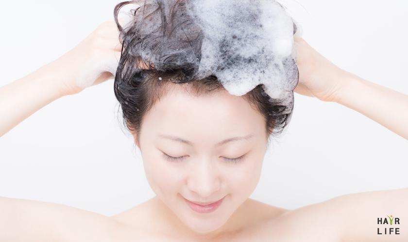 改善頭皮發紅以預防禿頭…有這5招!對策④:用正確的方式洗頭
