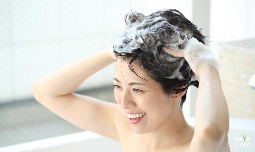 頭皮保養第三招:正確的洗頭方式