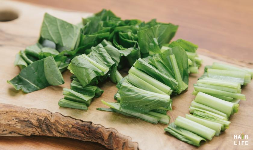 預防掉髮的含鐵食物-油菜