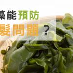 海藻能預防掉髮問題?徹底解析飲食對掉髮的影響