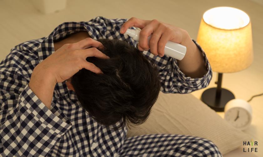 使用養髮液
