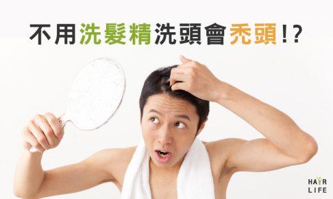 小心!「不用洗髮精洗頭會禿頭」是真的嗎!?