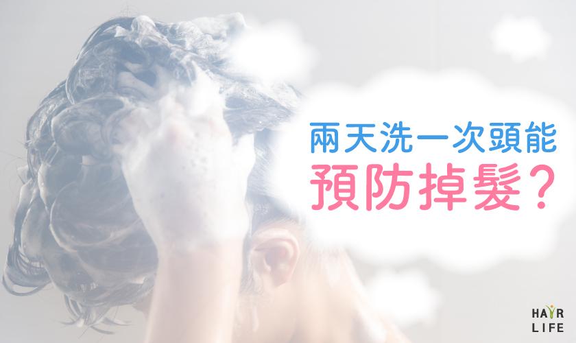 兩天洗一次頭能預防掉髮?真的嗎?